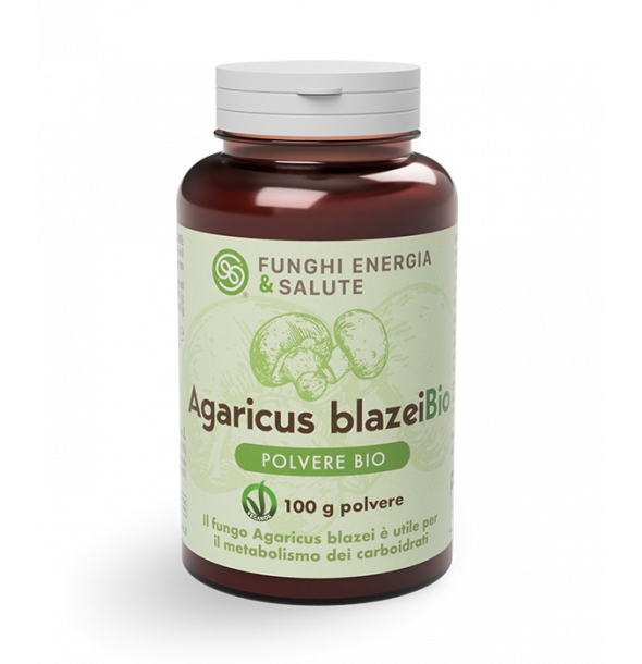 integratori-Agaricus blazei Polvere Bio